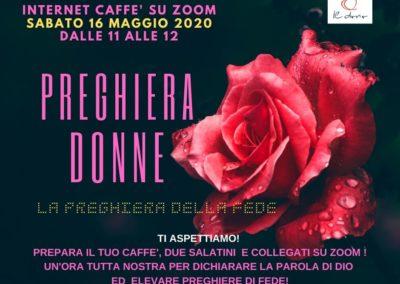 INCONTRO DONNE 16 MAGGIO 2020